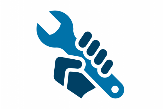 Technical Requirements and Support Icon